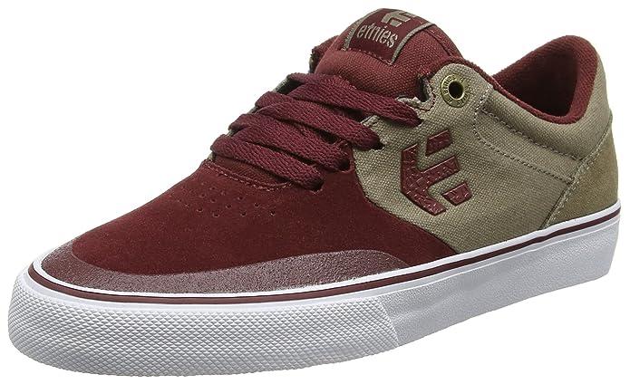 Etnies Marana Vulc Sneakers Skateboardschuhe Herren Weinrot/Braun