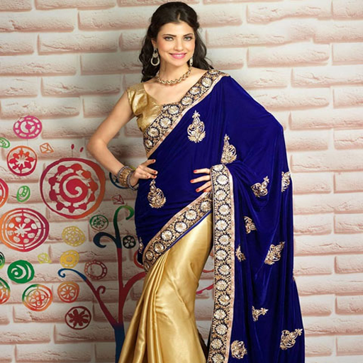 Half & Half Sarees Designs For Indian Girls Vol 1 (Amazon India Online Shopping compare prices)