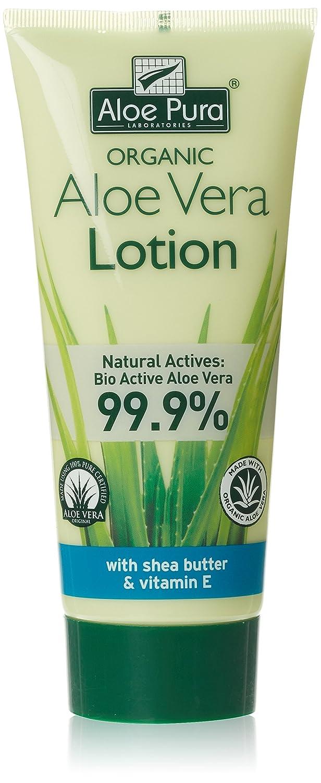 Aloe Pura Oragnic Aloe vera lotion with Shea Butter & Vitamin E, 200ml
