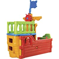 ECR4Kids Buccaneer Boat w/Pirate Flag Play Structure