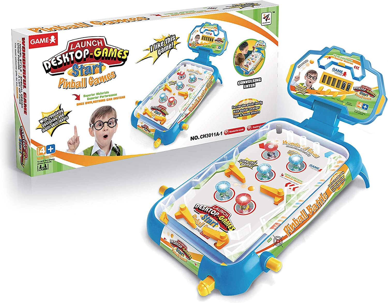Amazon.com: Tabletop Pinball Machine Game by VERZABO Arcade ...