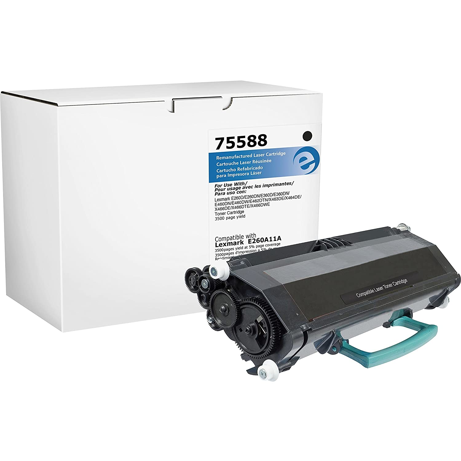 Amazon.com: Elite Image 75588 Remanufactured Toner Cartridge ...