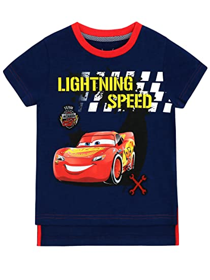 Disney Cars - Camiseta para niño - Cars Lightning Mcqueen