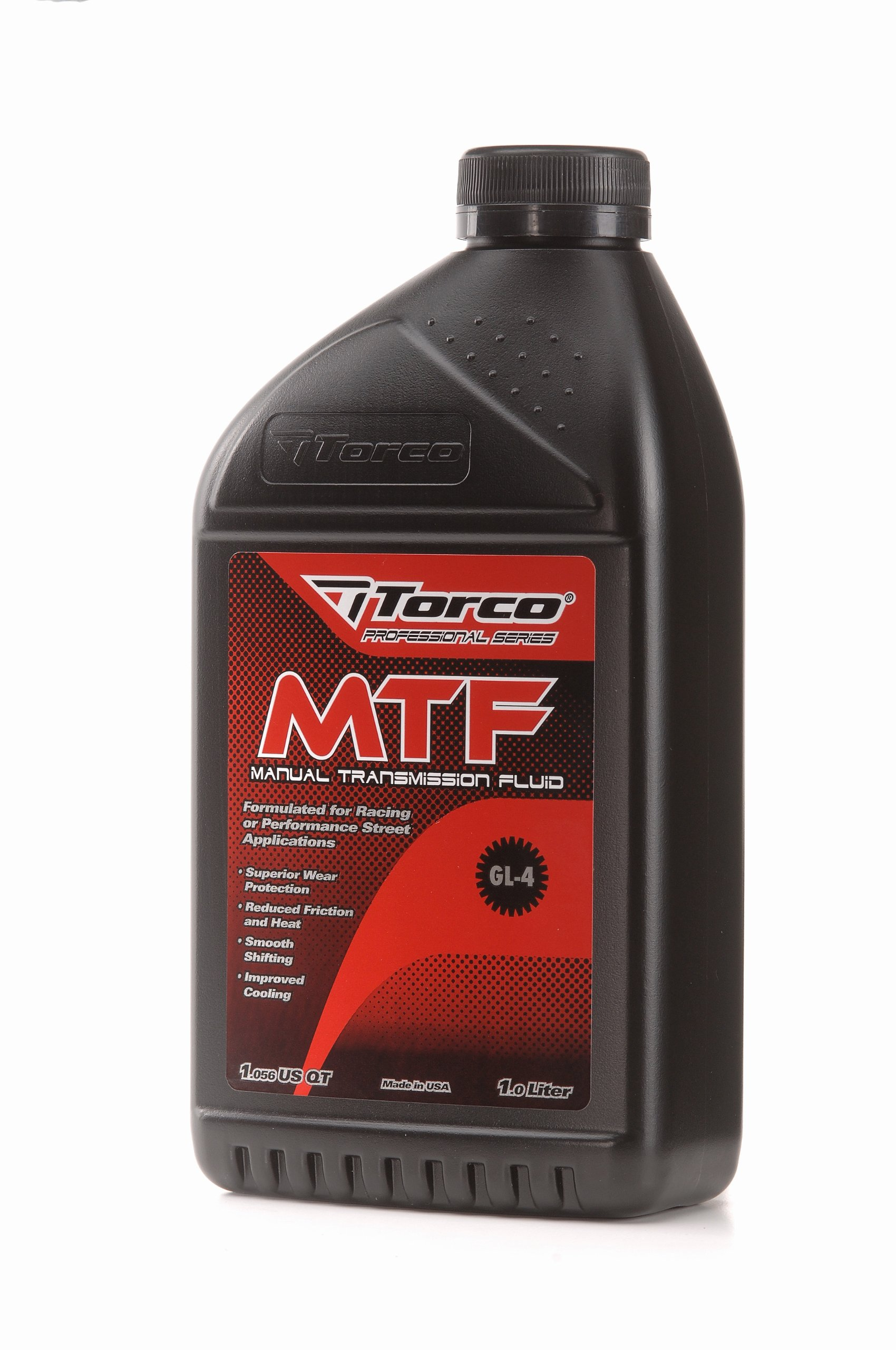 Torco A200022C MTF Manual Transmission Fluid Bottle - 1 Liter, (Case of 12)
