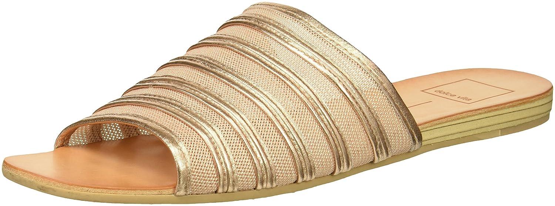 Dolce Vita Women's Katlee Slide Sandal B07B26C73D 6.5 B(M) US|Rose Gold Mesh