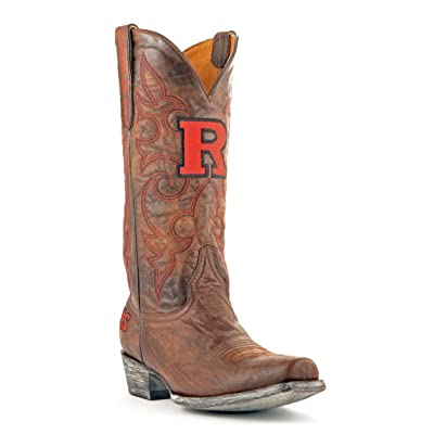 NCAA Rutgers Scarlet Knights Men's Board Room Style Boots: Sports & Outdoors