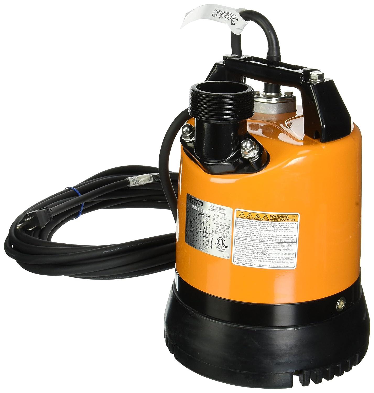 America Tsurumi LSR2.4S-60 Low-Level Submersible Dewatering Pump 2//3 HP Tsurumi Inc.