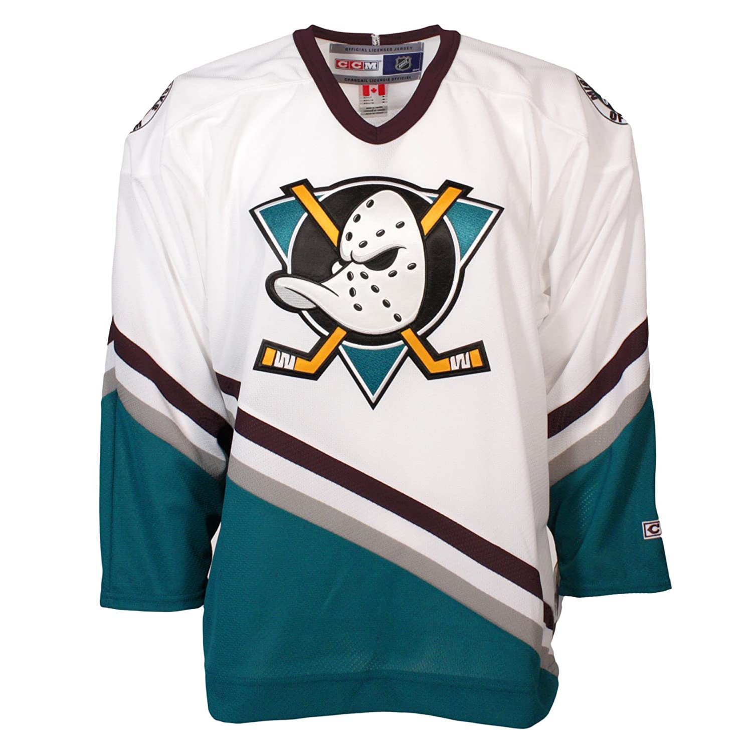 meet 5fea8 63384 Anaheim Mighty Ducks Vintage Replica Jersey 1993-94 (Home ...