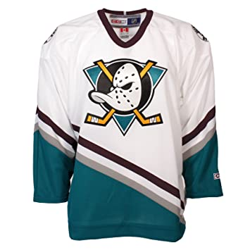 official photos 1a4ec a4996 old school mighty ducks jersey