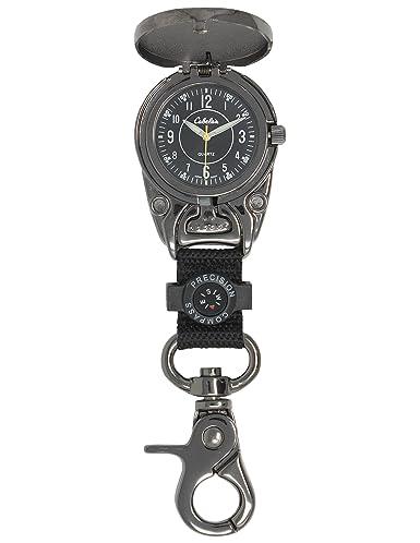 Amazon.com: Cabela s Cover Clip Gunmetal Carabiner Reloj ...