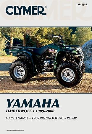 Amazon Com Clymer Repair Manual For Yamaha Atv Timberwolf Yfb250 89 00 Automotive