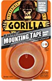Gorilla Colle 30441011.5m Heavy Duty ruban de montage double face–Clair
