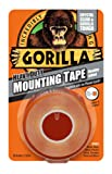 GORILLA GLUE 3044101 1.5 m Heavy Duty Double Sided Mounting Tape - Clear