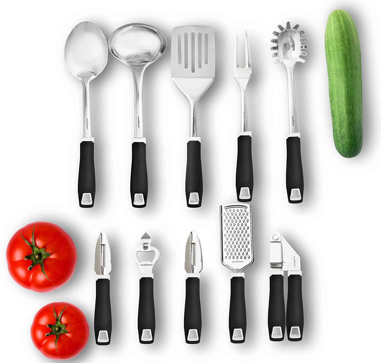 amazoncom modernhome 10 piece kitchen tools gadget set kitchen dining