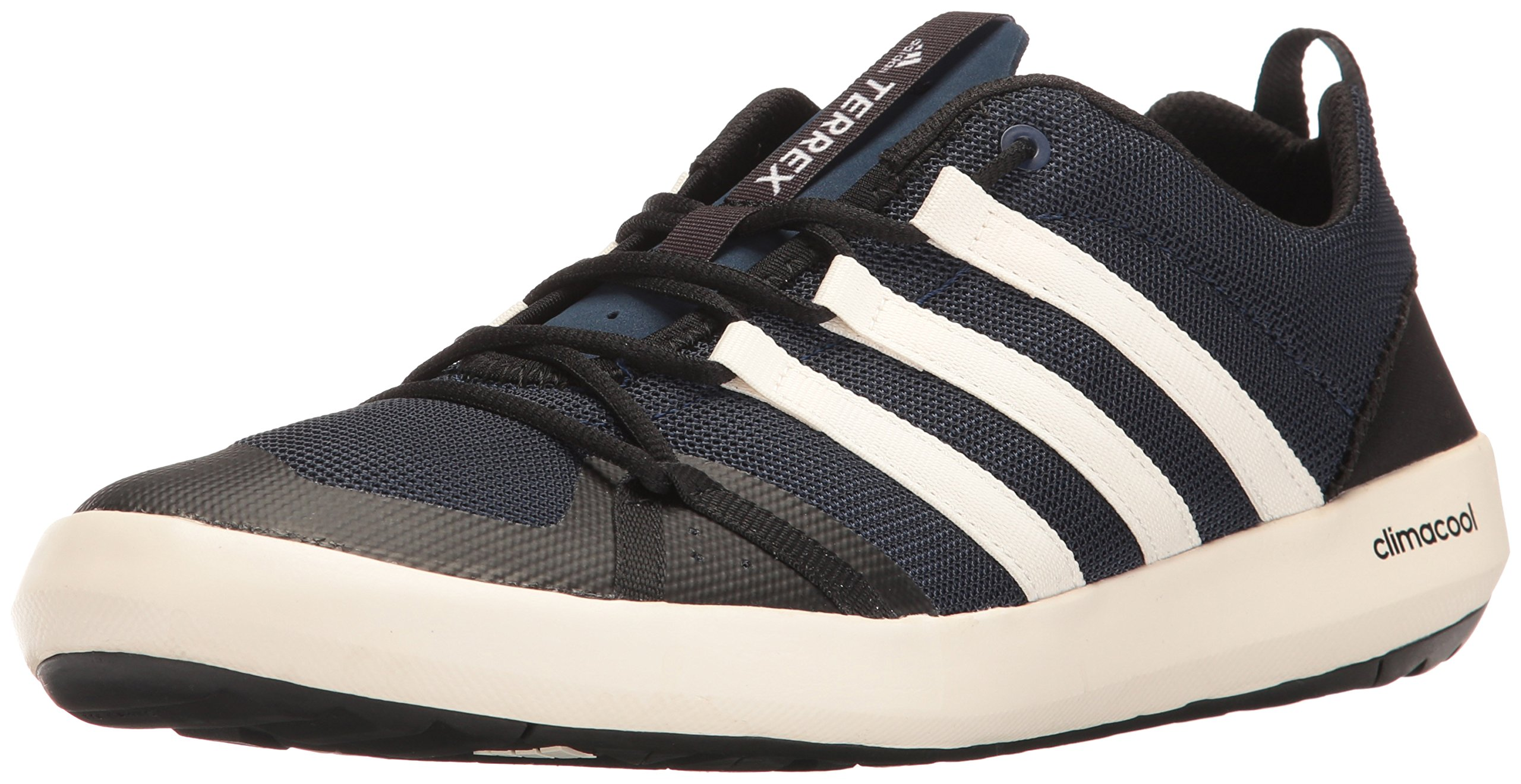 adidas outdoor Men's Terrex Climacool Boat Water Shoe, Collegiate Navy/Chalk White/Black, 9.5 M US by adidas outdoor