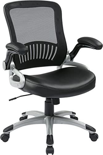 Editors' Choice: Office Star Breathable Screen Back and Bonded Leather Seat Managers Chair