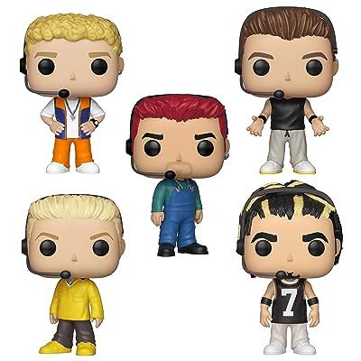 Funko Rocks: Pop! NSYNC Collectors Set - Justin Timberlake, JC Chasez, Joey Fatone, Lance Bass, Chris Kirkpatrick: Toys & Games