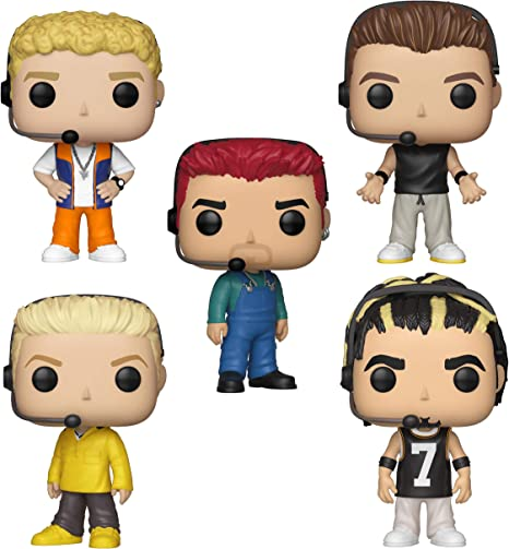 Funko Rocks: Pop! NSYNC Collectors Set