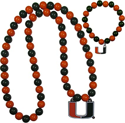 Siskiyou NCAA Unisex-Adult Fan Bead Necklace