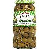 Saclà - Olivolì, Olive Verdi  Snocciolate in Salamoia - 560 g