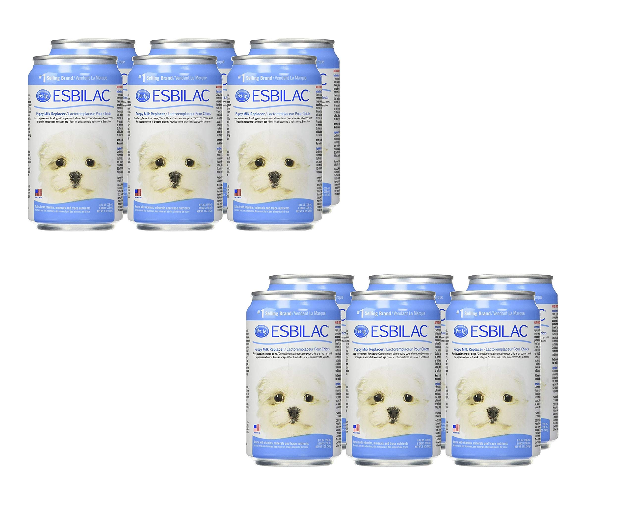 Esbilac Milk Replacer for Puppies 8oz (6 Pack) (2 Pack (6 Count))