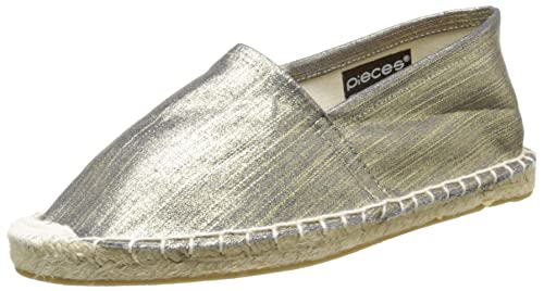 Pieces Haisha, Alpargatas para Mujer, Dorado-Or (Gold Colour), 36 EU: Amazon.es: Zapatos y complementos