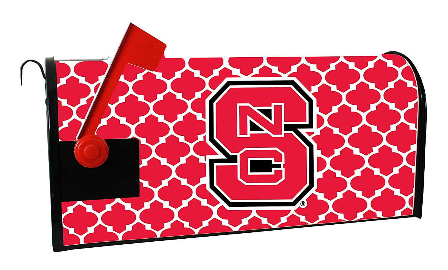 NC State Wolfpackメールボックスcover-north Carolina State University磁気メールボックスcover-moroccanデザイン B00WT4D6CE