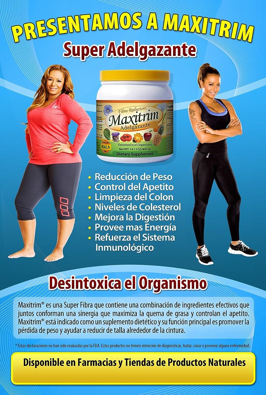 Amazon.com: Fibra Multi Pérdida de Peso Mix maxitrim ...