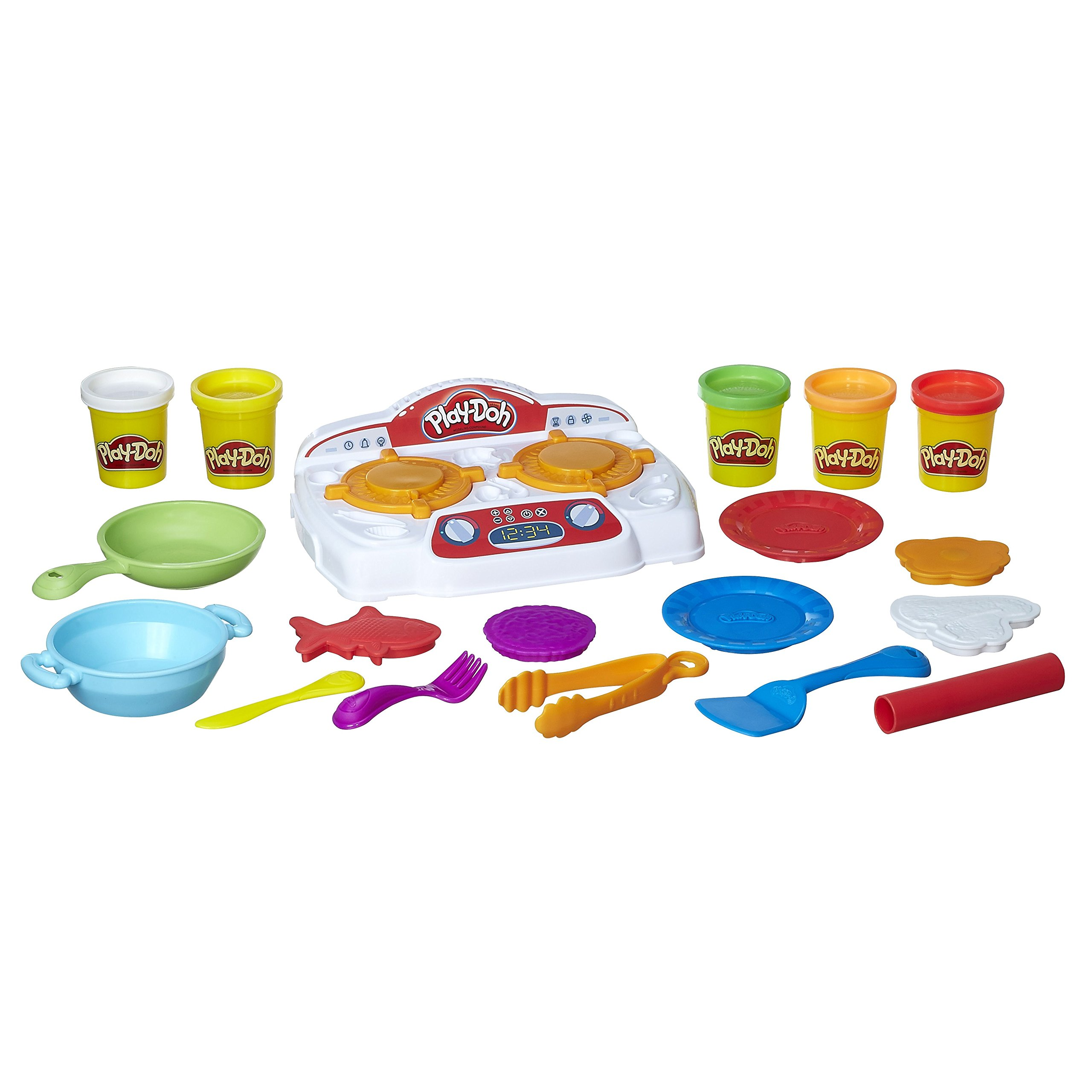 Play-Doh - B9014 - Kitchen Creations Sizzling Stovetop by Play-Doh (Image #2)