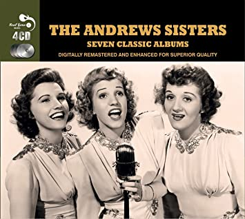 the andrew sisters 7 classic albums the andrew sisters amazon