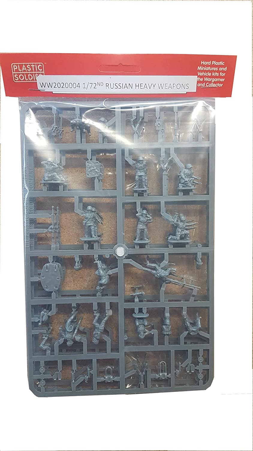 1/72 Russian Infantry Heavy Weapons Plastic Soldier Company PSCWW2020004