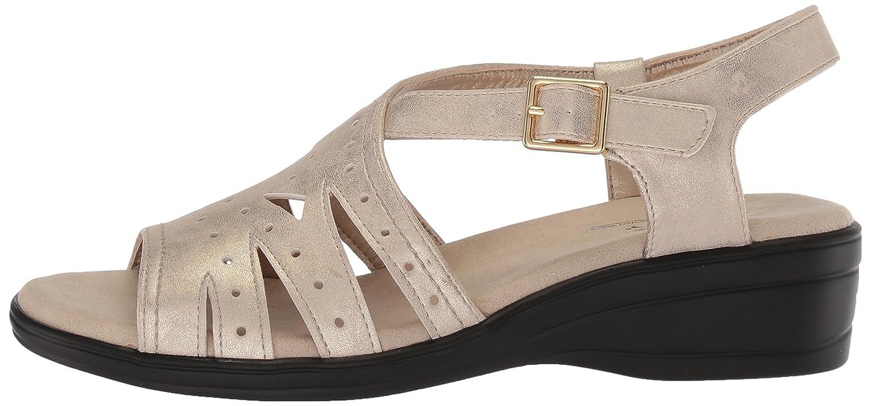 Easy Street Womens Roxanne Flat Sandal