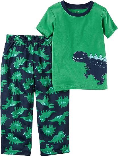 NEW Carter/'s Boys 2-Piece Dinosaur Fleece Top /& Pant Set toddler 12M,2T,3T,4T