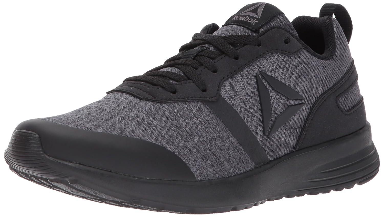 Reebok Women's Foster Flyer Track Shoe B01N1S2SBB 6.5 B(M) US|Hthr - Black/Dark Grey Heather/Ash Grey