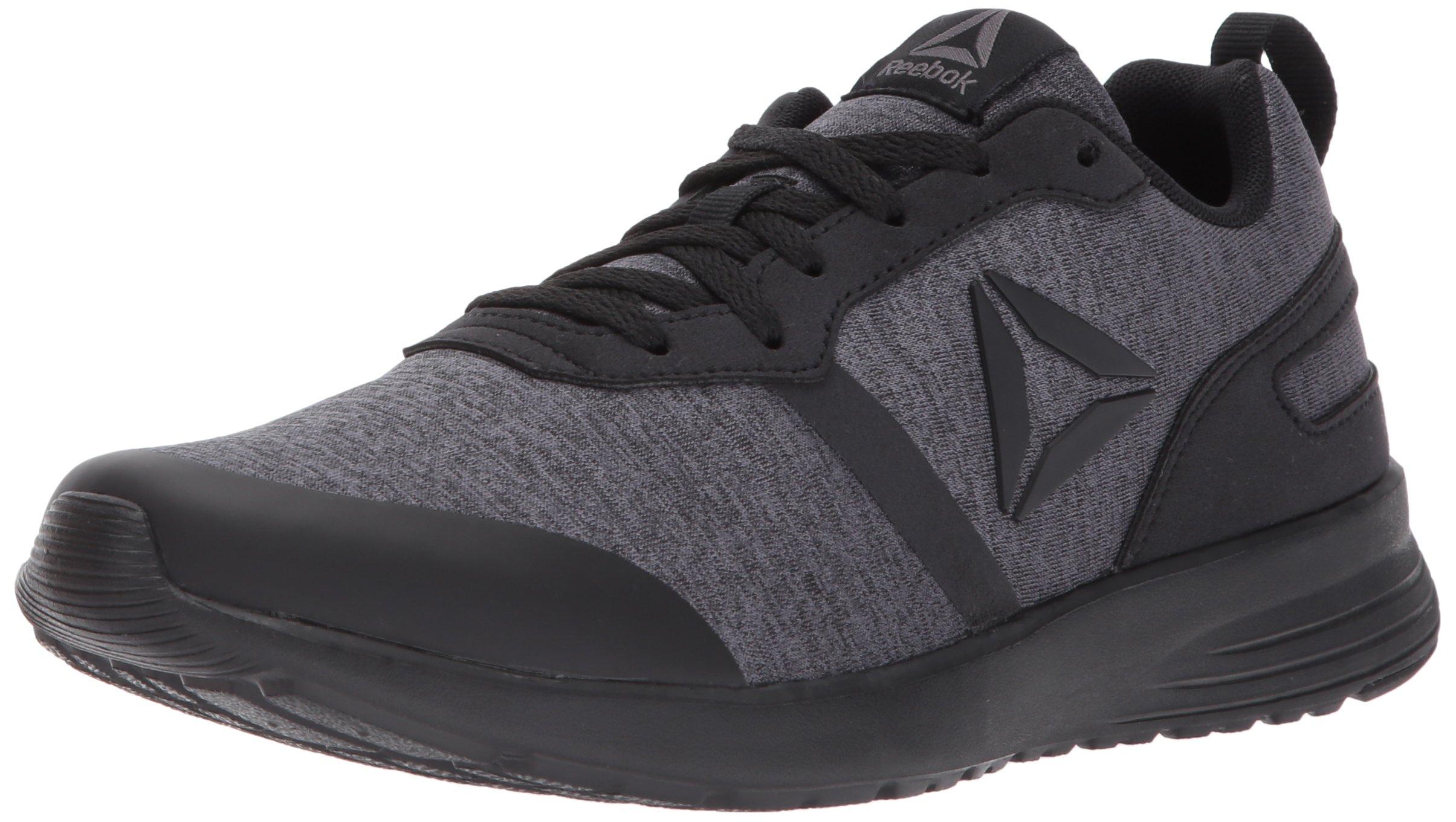 Reebok Women's Foster Flyer Track Shoe,hthr - black/dark grey heather/ash grey,5 M US
