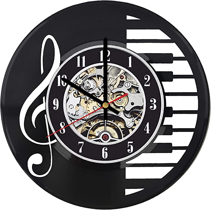 RaduPUSH Johnny Cash John Music Vinyl Record Wall Clock Decor Handmade Unique Original Gift