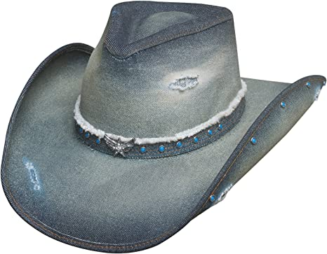 WMNU Deluxe Wide Brim Hat Unisex Jazz Hat Western Hat Cowboy Cowgirl Hat
