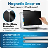 Adaptix Magnetic Privacy Screen for 13 Inch MacBook Pro Laptop [2016, 2017, 2018, 2019] - Anti-Scratch, Anti-Glare Privacy Filter to Protect Information - Blue Light Screen Protector