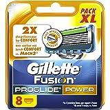 Gillette Fusion ProGlide Power Lames De Rasoir Pour Homme - 8Recharges