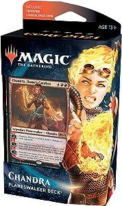 Magic: The Gathering Chandra, Flame's Catalyst Planeswalker Deck | Core Set 2021 (M21) | 60 Card Starter Deck, C76580000