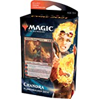 Magic: The Gathering Chandra, Flame's Catalyst Planeswalker Deck | Core Set 2021 (M21) | 60 Card Starter Deck, C76580000