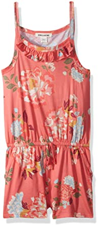 56c21aeb299c Amazon.com  Billabong Girls  Big One Romper  Clothing