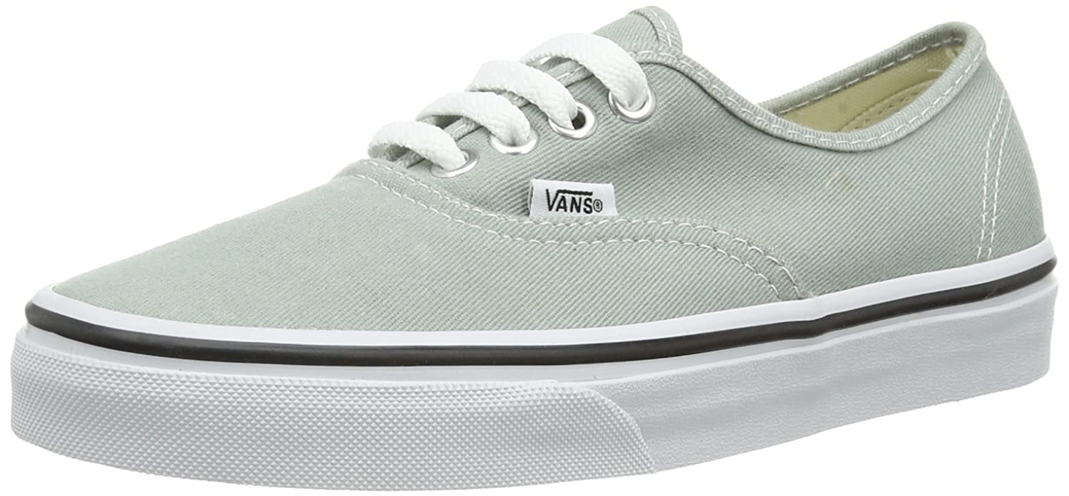 Vans U AUTHENTIC VVOEAQM Unisex Erwachsene Sneaker Grun Brushed Twill