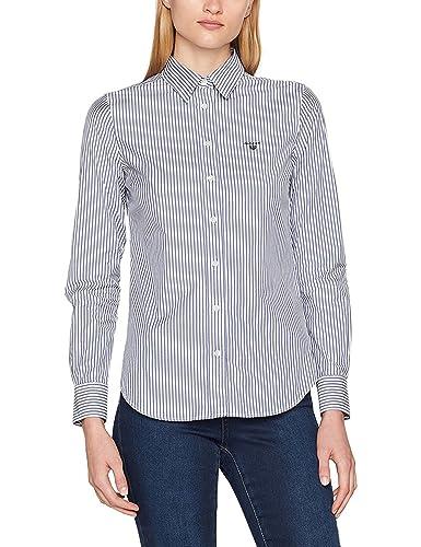 Gant Stretch Broadcloth Banker Shirt, Camisa para Mujer