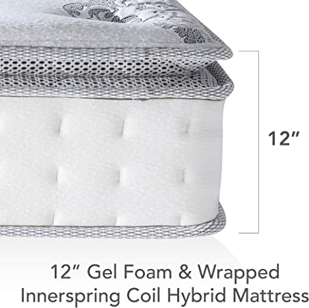 best hybrid mattress for side and stomach sleepers