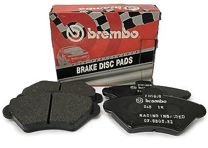 GENUINE BREMBO BRAKES FRONT BRAKE PAD SET BRAKE PADS P06076 BRAKE KIT