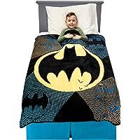 "Franco Kids Bedding Soft Plush Microfiber Throw, 46"" x 60"", Batman"
