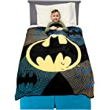 "Franco A39678 Kids Bedding Soft Plush Microfiber Throw, 46"" x 60"", Batman"