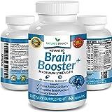 Advanced Brain Booster Supplements - 40 Ingredients Memory Focus & Clarity Vitamins Plus eBook - Boost Energy, Elevate Brain