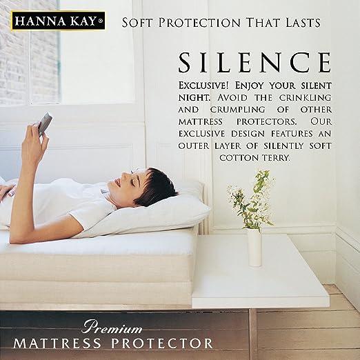 Amazoncom Queen Size Hanna Kay Premium Hypoallergenic Waterproof